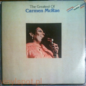 Carmen McRae The Greatest 2lp