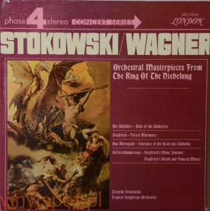 Wagner, orchestral masterpieces from the ring, Stokowski