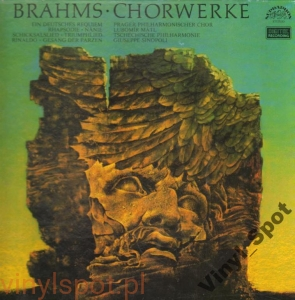 BRAHMS Utwory chóralne- komplet SINOPOLI BOKS 4 LP