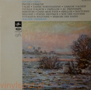 Grieg, pieces lyriques, Walter Gieseking