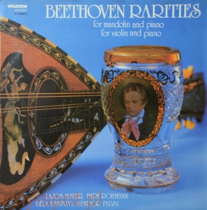 Beethoven, Rarities for mandolin and piano, Mayer, Rohman i in.