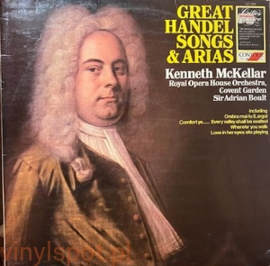 Handel, Handel Songs & Arias, Kenneth McKellar, Sir Adrian Boult