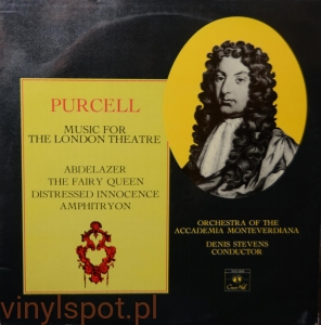 Purcell, Music for the London Theatre, Denis Stevens