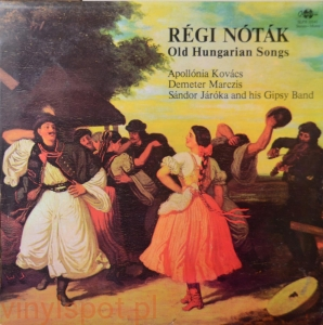 Regi Notak, Old Hungarian Song, Sandor Jaroka and his Gipsy Band