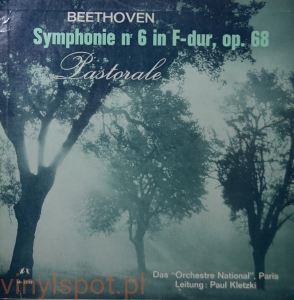 Beethoven, Symphonie nr 6, Orchestre National Paris, Paul Kletzki
