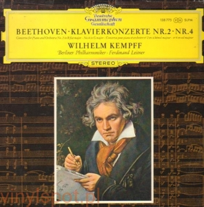 BEETHOVEN Koncerty fortepianowe nr 2 i 4 KEMPFF LEITNER